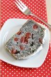 Poppy Seed Cake foto de stock