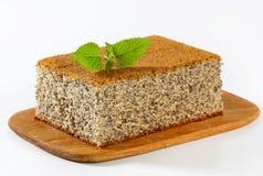 Poppy Seed Cake Foto de archivo