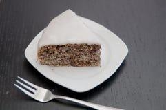 Poppy Seed Cake Imágenes de archivo libres de regalías