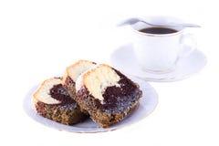 Poppy-seed  cake Stock Image