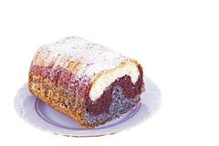 Poppy-seed  cake Royalty Free Stock Image