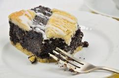 Poppy Seed Cake imagens de stock royalty free