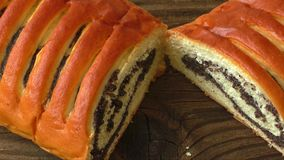 Poppy Seed Cake stock video