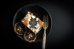 Poppy Seed Cake Arkivbilder