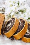 Poppy seed cake Stock Photos