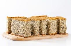 Poppy Seed Cake Stock Photo