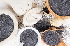 Poppy Seed Heaps photographie stock libre de droits