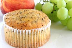 Poppy Seed Muffin Immagini Stock