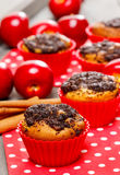 Poppy-seed muffins Stock Image