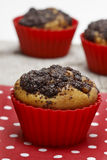 Poppy seed muffins Stock Photography