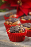 Poppy seed muffins Stock Photo