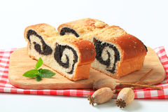 Poppy seed roll Stock Images