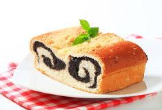 Poppy seed roll Royalty Free Stock Images