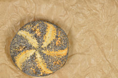Poppy Seed Roll, Detail Stock Photos