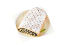 Poppy seed roll Royalty Free Stock Photography