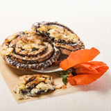 Poppy Seed Rolls Stock Photography