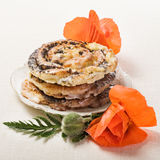 Poppy Seed Rolls Royalty Free Stock Image