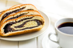 Poppy seed strudel Stock Photography