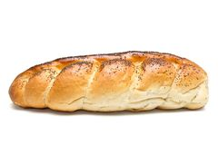 Poppy Seeded Plait Stock Photography