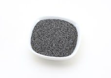 Poppy Seeds (black). Natural Purity Blue Poppy Seeds Royalty Free Stock Images