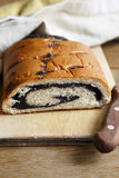Poppy seeds sweet bread Stock Photography