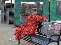 Poppy Soldier rossa Fotografie Stock