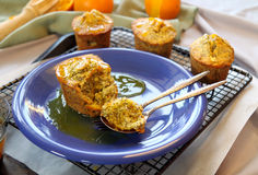 Poppyseed Cake Stock Photo