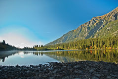 Poprad Lake Stock Photo