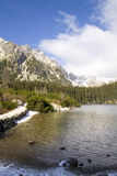 Poprad lake Stock Photos