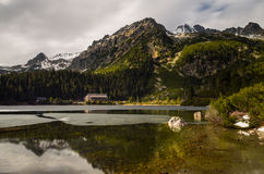 Popradské pleso Royalty Free Stock Images