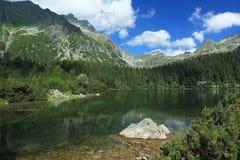 Popradske lake Royalty Free Stock Photo