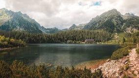 Popradske Pleso, Σλοβακία Στοκ φωτογραφίες με δικαίωμα ελεύθερης χρήσης