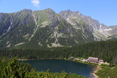 Popradske pleso Stock Photos
