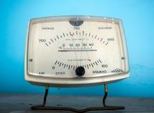 Poprzedni aparat dla pomiarowej temperatury, naciska i wilgotności, obraz stock