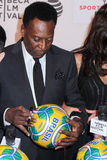 Poprzedni Brazylijski futbolista Pela zdjęcia royalty free