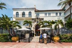 Poprzedni Gianni Versace dwór w Miami, Floryda, Stany Zjednoczone Ameryka obrazy stock
