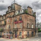 Poprzedni hotel w Crieff, Szkocja, w HDR zdjęcie stock
