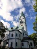 Poprzedni kościół królowa Louise w Kaliningrad Obrazy Stock