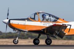 Poprzedni Królewski australijczyk siły powietrzne RAAF Nowa Zelandia CT-4A Airtrainer Kosmiczny samolot VH-NZP A19-077 od RAAF mu obrazy royalty free