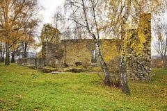 Poprzedni królewski kasztel w Nowy Sacz Polska Obraz Royalty Free