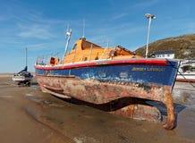 Poprzedni lifeboat RNLB Elizabeth Rippon Obrazy Royalty Free