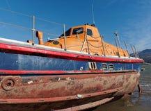 Poprzedni lifeboat RNLB Elizabeth Rippon Obraz Royalty Free