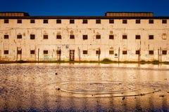 poprzedni okręg administracyjny więzienie Valparaiso Obraz Royalty Free