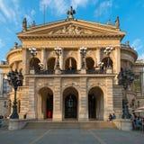 Poprzedni opera budynek, Alte Oper, Frankfurt magistrala - jest - obrazy royalty free