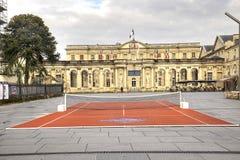 Poprzedni Rohan pałac urząd miasta, teraz Obraz Royalty Free
