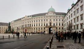 Hofburg pałac Obraz Stock