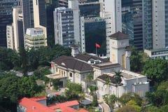 Poprzedni rzędu dom, Hong Kong zdjęcia stock