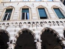 Poprzedni Szpitalny kompleks San Giovanni Di Pre w genui, obrazy royalty free