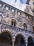 Poprzedni Szpitalny kompleks San Giovanni Di Pre w genui, zdjęcia royalty free