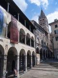 Poprzedni Szpitalny kompleks San Giovanni Di Pre w genui, zdjęcie stock